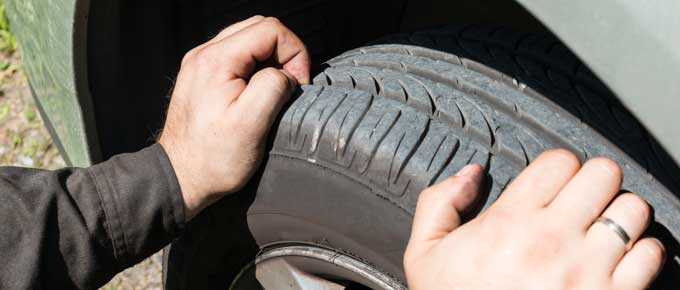 Are you summer tires worn out?