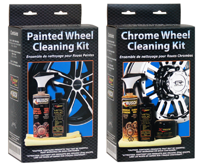 wheel cleaning kit.