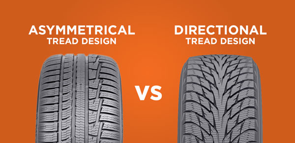 All Weather Tire >> What's the Difference Between Directional, Asymmetrical and Symmetrical Tread Patterns? - Kal Tire