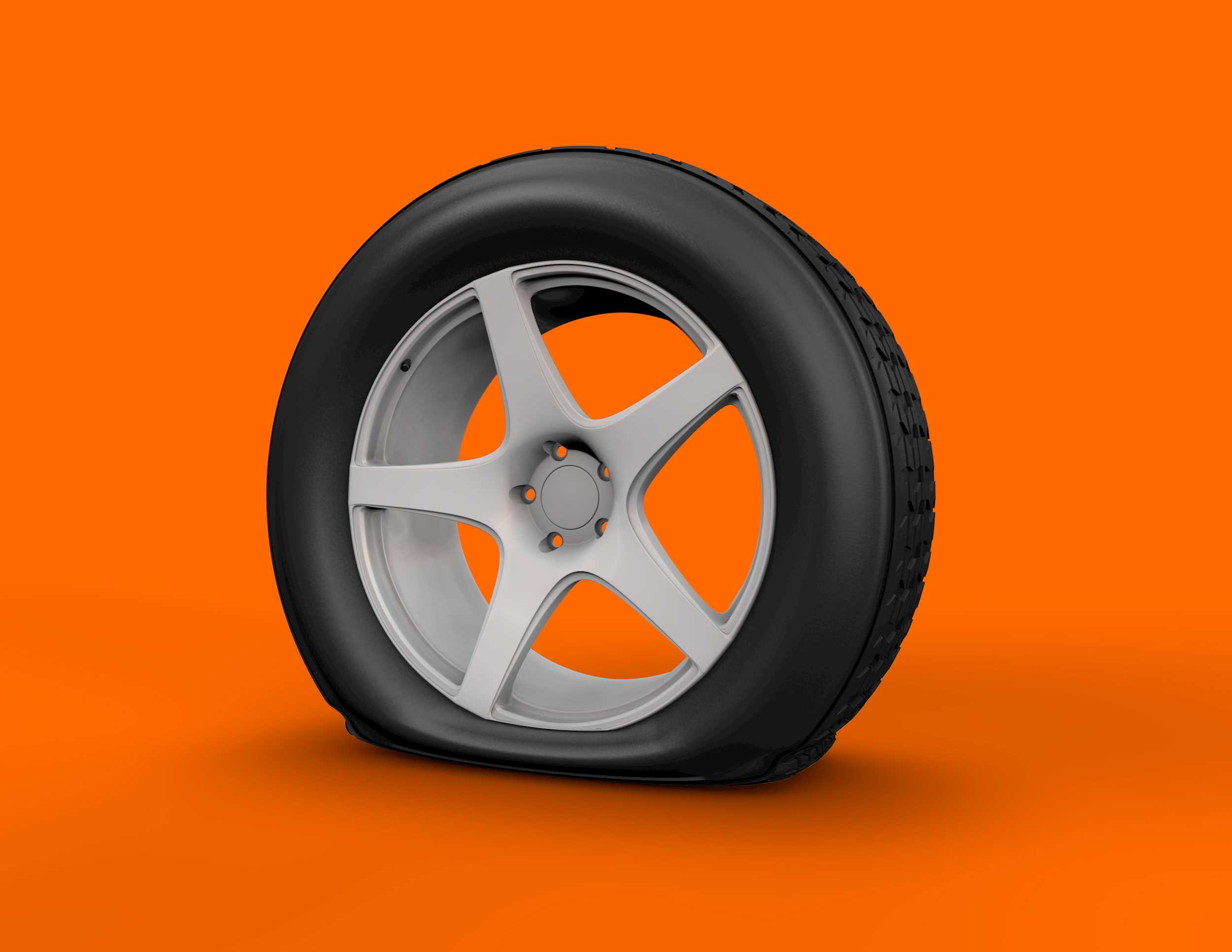 Kal-Tire-Flat-Tire