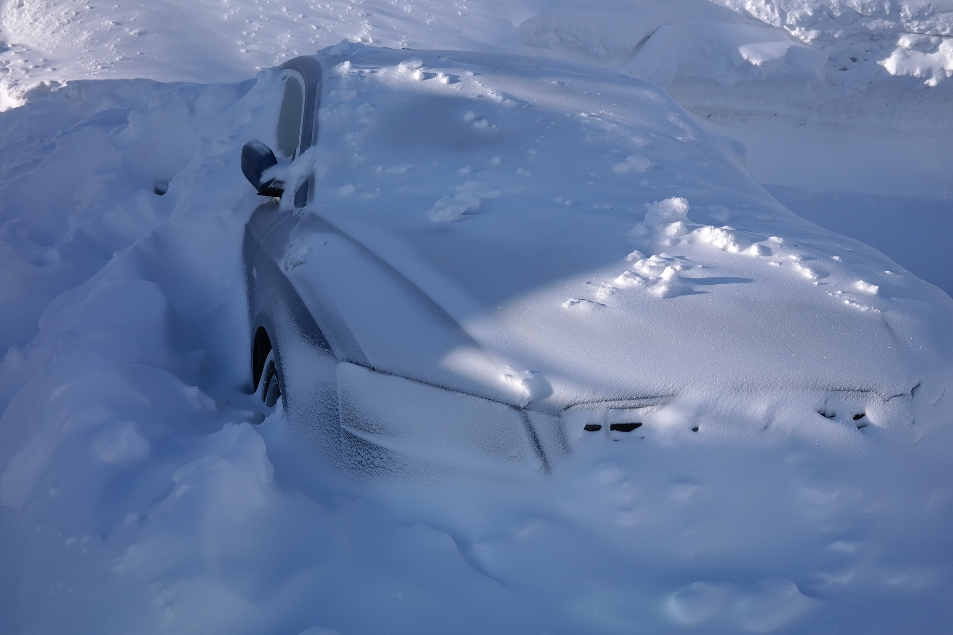 Snow Buried Car